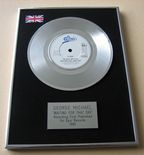 GEORGE MICHAEL - WAITING FOR THAT DAY PLATINUM Single Presentation Disc